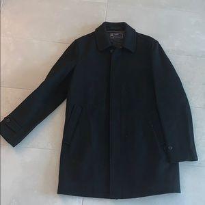 Black J Crew Pea Coat
